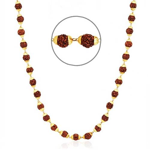 22k Gold Plated  2mm fine ROPE Chain necklace kapa 24 in BOLLYWOOD STYLE