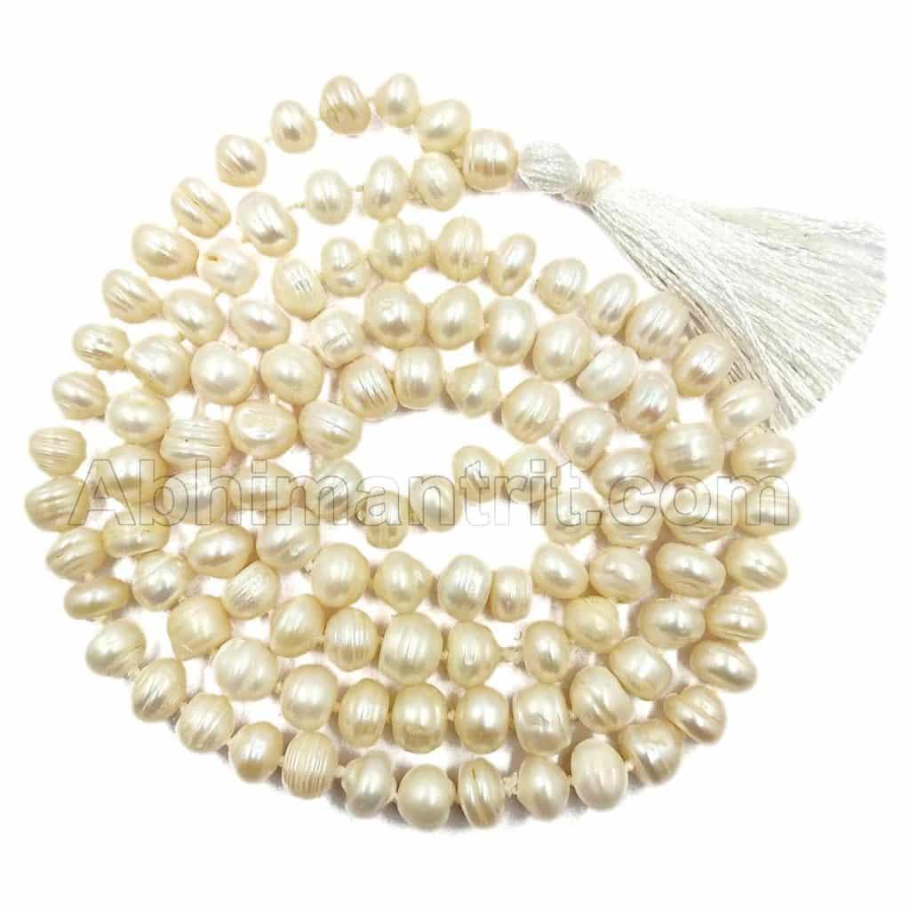 1c9956bf9 Sale! Buy Abhimantrit ® Original Suche Moti Mala- Natural Hyderabadi Pearl  Online Shopping at Low Price